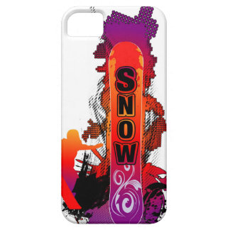 Snowboarder iPhone 5 Funda