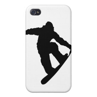 Snowboarder iPhone 4/4S Cover