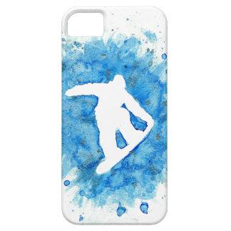 Snowboarder Jump Phone Case