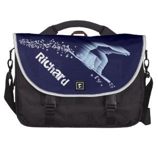 Snowboarder Laptop Bag Template
