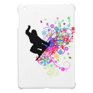 Snowboarder mini ipad case