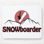 Snowboarder Mousepad