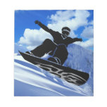 snowboarder notepads