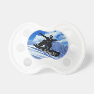 snowboarder pacifier