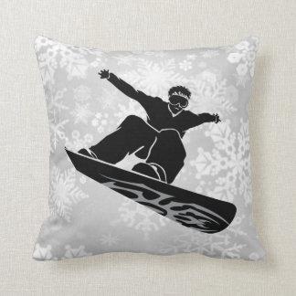 snowboarder pillow