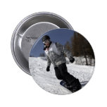 Snowboarder Pin