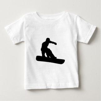 Snowboarder Playera De Bebé
