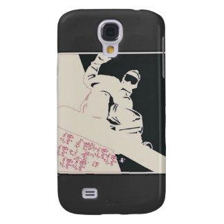 Snowboarder/Pop Art Samsung S4 Case