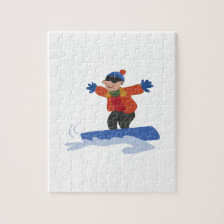Snowboarder Jigsaw Puzzles
