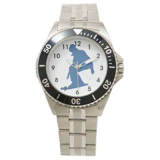 Snowboarder Reloj