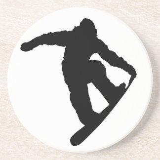 Snowboarder Sandstone Coaster