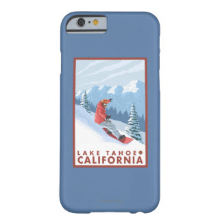 Snowboarder Scene - Lake Tahoe, California Barely There iPhone 6 Case
