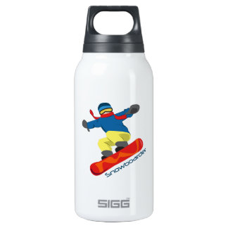 Snowboarder SIGG Thermo 0.3L Insulated Bottle