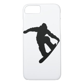 Snowboarder Silhouette iPhone 7 Case