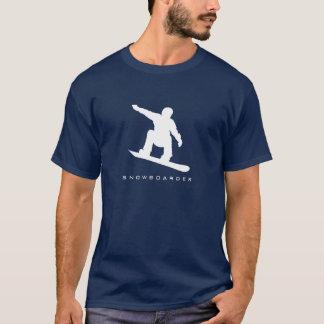 Snowboarder Silhouette T-Shirt