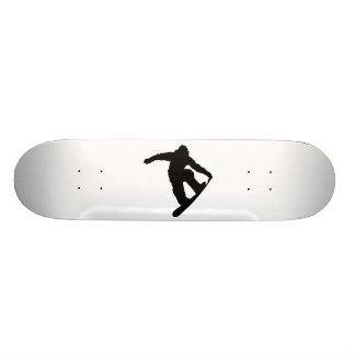 Snowboarder Skateboard Deck