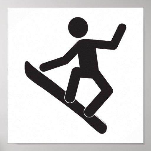 Snowboarder-T Póster