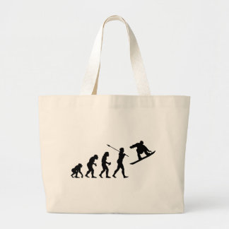 Snowboarder Tote Bags