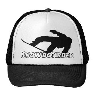 Snowboarder Trucker Hat