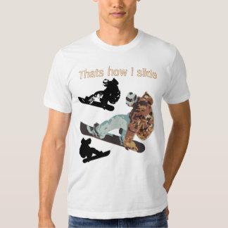 snowboarder tshirt - Customized