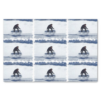 "Snowboarding 10"" X 15"" Tissue Paper"
