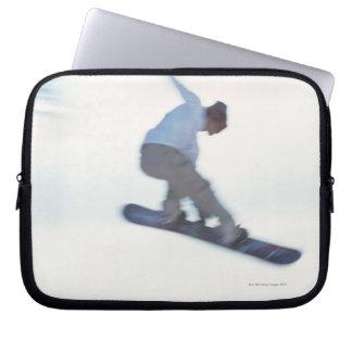 Snowboarding 11 laptop sleeve
