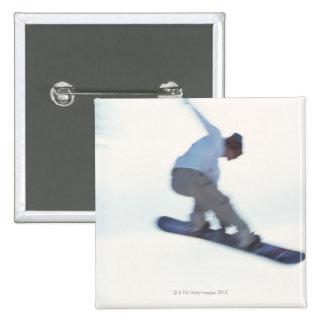 Snowboarding 11 pinback button