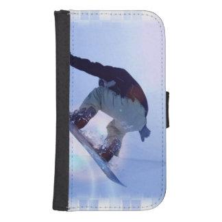 snowboarding-12 funda tipo cartera para galaxy s4