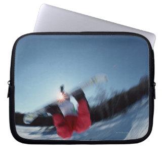 Snowboarding 12 computer sleeve