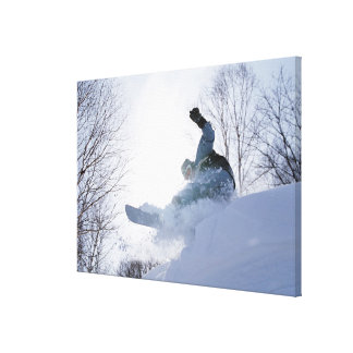 Snowboarding 13 canvas print