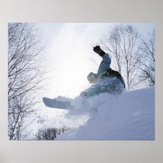 Snowboarding 13 poster