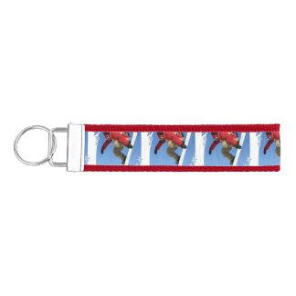 snowboarding-13 wrist keychain