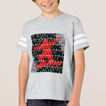 McTiffany Tiffany Aqua Snowboarding #1 (blk) T-Shirt