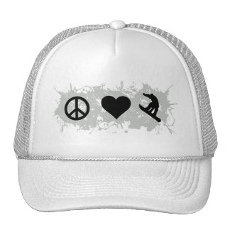 Snowboarding 1 trucker hat