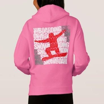 McTiffany Tiffany Aqua Snowboarding #1 (wht) hoodie