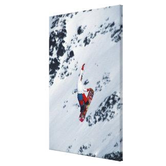 Snowboarding 2 canvas print