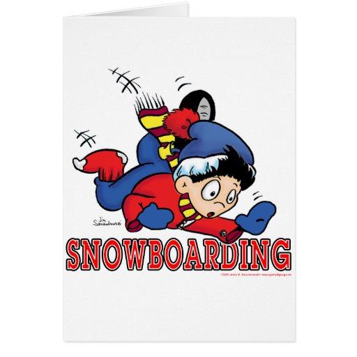 Snowboarding 2 card