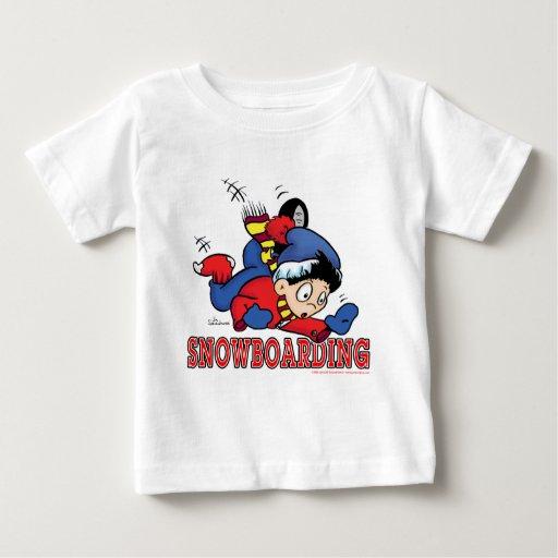 Snowboarding 2 infant t-shirt