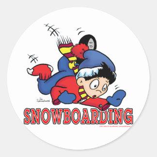Snowboarding 2 sticker