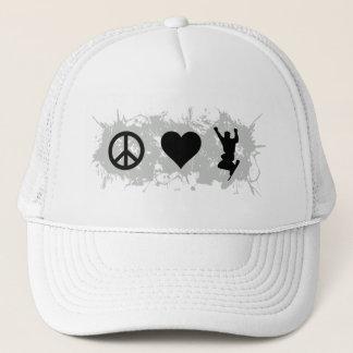 Snowboarding 2 trucker hat