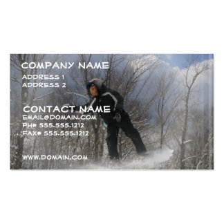 Snowboarding 360 Business Card