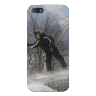 Snowboarding 360 iPhone 5 case