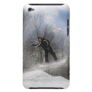 Snowboarding 360 iTouch Case Barely There iPod Covers