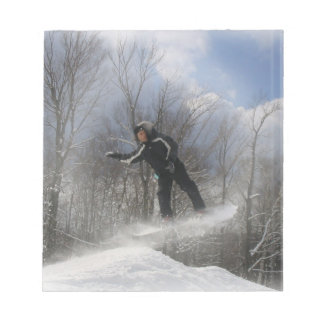Snowboarding 360 Notepad