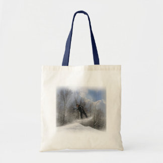 Snowboarding 360 Small Tote Bag