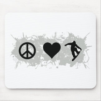 Snowboarding 3 mouse pad