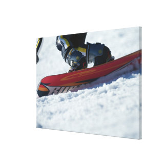Snowboarding 4 canvas print