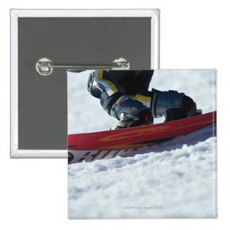 Snowboarding 4 pinback button