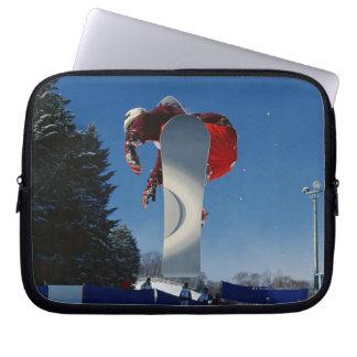 Snowboarding 5 laptop sleeves