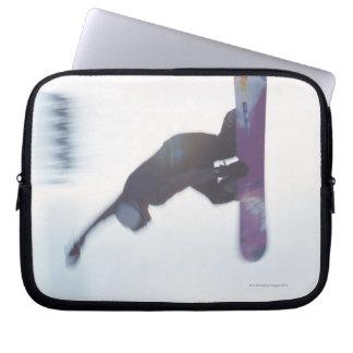 Snowboarding 6 computer sleeve